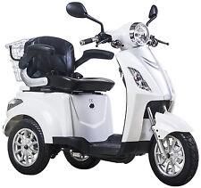 Elektromobil, E-Mobil, Seniorenfahrzeug, E-Dreirad, 25 Km/h, Weiß