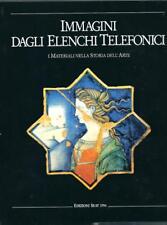 Libro d'arte IMMAGINI D'ARTE IN ITALIA DAGLI ELENCHI TELEFONICI Ediz. Seat 1994