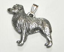 Australian Shepherd Pendant Dog Harris Fine Pewter Made in Usa jewelry