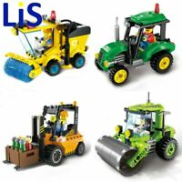 Lis City Series Forklift Truck Tractor Sweeper Truck Construction Road Roller