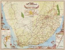 Map Of Africa 1960.Vintage Original Antique African Maps Atlases 1960 1969 Date Range