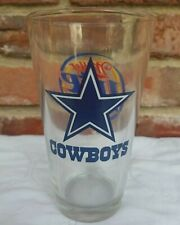 Miller Lite Beer Glass 2007 Dallas Cowboys Football Season