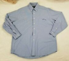 BMW Lifestyles Mens Shirt Size Large Long Sleeve Button down Embroidered Logo