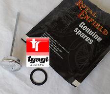 Cromado Tapón De Llenado Aceite Royal Enfield Clásico Piezas Repuesto 140124/3