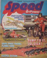 Speed & Power magazine 6 December 1974 Issue 38