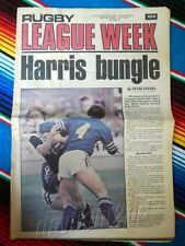 ✺RUGBY LEAGUE WEEK✺ 1980 Vol 11 No 2 WESTS MAGPIES Tigers NRL Big Magazine