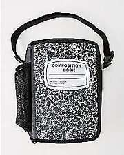 COMPOSITION NOTE BOOK LUNCH BAG NEW!