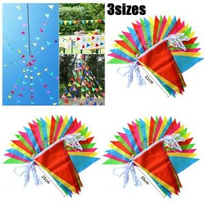 1PC - Multi Colour Banner Bunting Party Event Home Garden Decoration UK STOCK