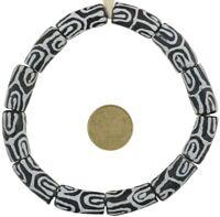 New powder glass beads African glass trade beads recycled Krobo Ghana bracelet