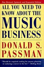 All You Need to Know about the Music Business Vol. B by Donald S. Passman (1997,