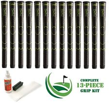 13 x Winn Golf Dri-Tac DriTac Performance Soft Black Grips 5DT-BK Standard + KIT