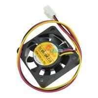 1/5PCS 2/3Pin 4cm Computer CPU Cooler Cooling Fan PC 40x40x10mm DC 12V MF