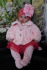 Muñeca Reborn falso bebé recién nacido bebé niña
