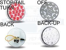 Rojo//blanco de lentes para Hella Lollipop Piruletas Pendiente Lámpara de Espejo//Luz Scania
