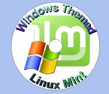 Linux Windows (XP, 7, 8) look alike OS Live on Remastered Installable DVD - New!