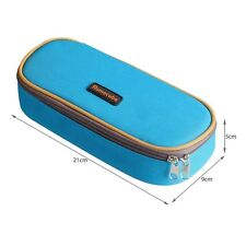 Homecube Pencil Case Large Holder Big Capacity of Practical Stationary Boys Blue