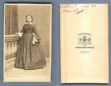 Bernheim Wormser, Mulhouse, Ensisheim - Marie Schmitt  CDV vintage albumen. Alsa