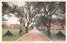 c.1910 Central Ave. US Navy Yard Pensacola FL post card