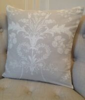 *3 sizes* Cushion cover in Laura Ashley Josette dove grey/Austen fabric reverse
