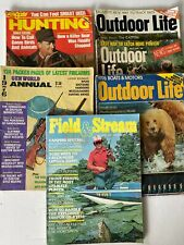 Vintage Hunting and Fishing Magazines (Lot of 6 Issues) 1973 & 1976