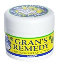 Grans Remedy For Smelly Feet and Footwear Original, Cooling & Scented --- DRP