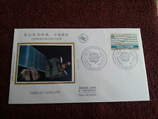 Enveloppe Premier Jour Soie 1988 Europa Communication First Day Cover