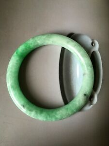 vintage Chinese Natural jadeite jade bangle bracelet