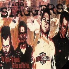 THE STAGGERS The Sights, The Sounds, The Fear And The Pain CD Like NEW!