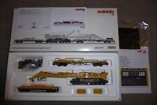 """Märklin 49954 Wagen-Set Kranwagen 100, Eisenbahnkran """"Goliath"""" mfx+/Sound, Neu"""