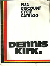 Dennis Kirk 1982 Motorcycle Parts and Accessories Catalog