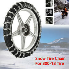Universal Snow Tire Chain For 300-18 Tire Motorcycle Anti-Skid Emergency Driving