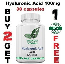 Hyaluronic Acid 100mg  Supports Joint Health Made In USA