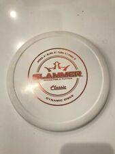 Dynamic Discs Classic Hard Plastic Slammer - 175g White - Slightly used 9/10