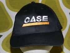 CASE EQUIPMENT black snapback mesh trucker hat tractors