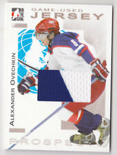 04-05 ITG Alex Ovechkin /10 Jersey GOLD Heroes & Prospects Moscow Dynamo 2004