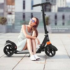 Scooters for Adults Teens, Kick Scooter with Adjustable Height Dual Suspension
