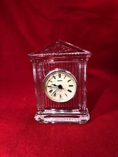 STAIGER Crystal Clock Mantel Quartz Movement Battery Operated Made in Germany