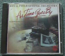 As Time Goes By - CD - Royal Philharmonic Orchestra-Telstar Records. Insert poor