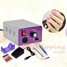 Electric Nail File Drill Machine Manicure Pedicure Kit Professional Nail Art