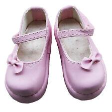 [wamami]02# Pink 1/6 BJD SD AOD DOD DZ Dolls Dollfie Leather Boots/Shoes ~ 4.5cm