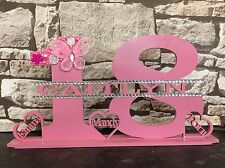 18th Birthday Gift Plaque Personalised