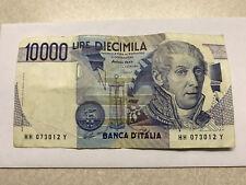 1984 Banco D'italia 10000 Lire Note Fine Circ. #5833