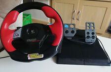Logitech Gaming Lenkrad und Pedale-Wingman Formula Force GP