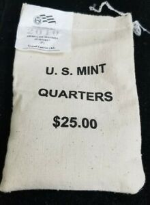 2010-P Grand Canyon NP US Mint Sealed Bag of Quarters $25 Face Value