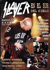 SLAYER Special RARE Magazine + POSTERS Argentina 1995