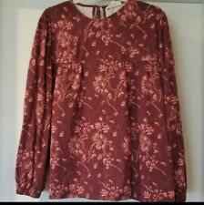 Synergy Organic Clothing Printed Top Size XL