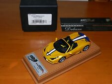1/43 BBR DeLuxe Ferrari 458 Speciale A on cuoio Leatherbase BBRC160ADL