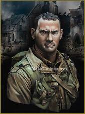 YOUNG min US 2nd RANGER Battaglione Normandia 1944 ym1848 ww2 KIT Busto non verniciata