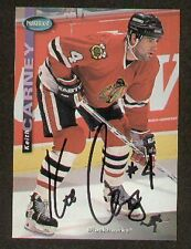 Keith Carney signed autographed Hockey Trading Card