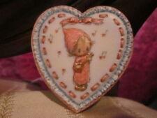 Valentines Day 1973 Vintage Coat Pin Hallmark Betsey Clark Raised Heart Pin